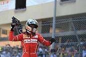 May 28th 2017, Monaco; F1 Grand Prix of Monaco Race Day;  Sebastian Vettel - Scuderia Ferrari wins the Monaco GP and celebrates in parc ferme