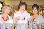 GLASSES: Nora hayes (kilflynn), Phil Sexton (Abbeydorney) and Jean O'Connell (Kilmoyley) trying on the new deigner glasses on Friday evening at CH Chemist, Tralee..