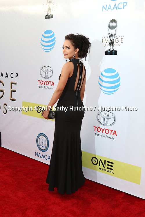 LOS ANGELES - FEB 11:  Tristin Mays at the 48th NAACP Image Awards Arrivals at Pasadena Conference Center on February 11, 2017 in Pasadena, CA
