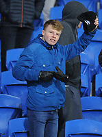 Bolton Wanderers fans enjoy the pre-match atmosphere <br /> <br /> Photographer Kevin Barnes/CameraSport<br /> <br /> The EFL Sky Bet Championship - Cardiff City v Bolton Wanderers - Tuesday 13th February 2018 - Cardiff City Stadium - Cardiff<br /> <br /> World Copyright &copy; 2018 CameraSport. All rights reserved. 43 Linden Ave. Countesthorpe. Leicester. England. LE8 5PG - Tel: +44 (0) 116 277 4147 - admin@camerasport.com - www.camerasport.com