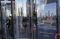 NEW YORK, NY - MARCH 12: People take one of the exits of the Hudson Yards real estate development complex on March 12, 2019 in New York. The Hudson Yards is on of the biggest billion project on Manhattan's west side and is expected to open its doors on Friday. (Photo by Eduardo MunozAlvarez/VIEWpress)