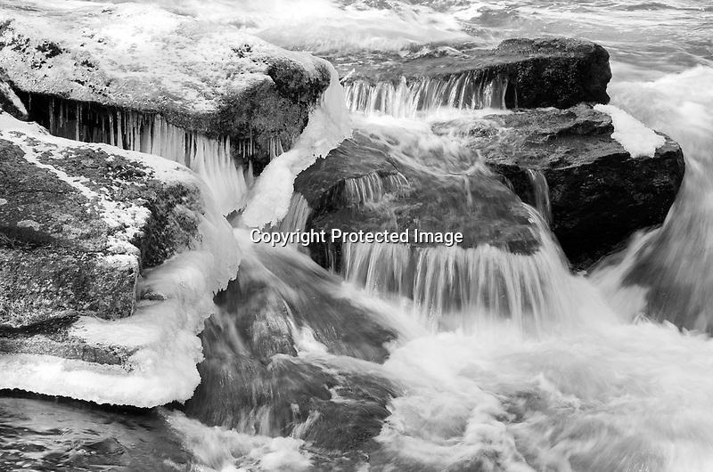 Gleason Falls in Spring