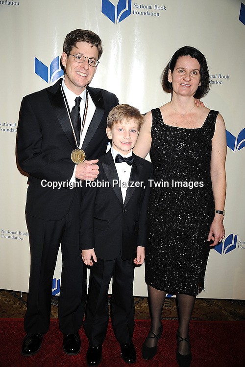 Jim Sheeler and daughter and wife Anik..at The 2008 National Book Awards Dinner and Ceremony on November 19, 2008 at Cipriani's Wall Street in New York City. ....Robin Platzer, Twin Images