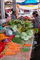 Indonesia, Sulawesi, Tomohon. Tomohon's market is a meeting place for the Minahasans. People come from all over the Minahasa region to buy and sell food and other goods.