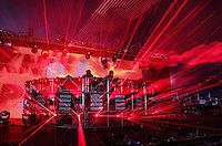 Knife Party perform during The New Look Wireless Music Festival at Finsbury Park, London, England on Saturday 04 July 2015. Photo by Andy Rowland.