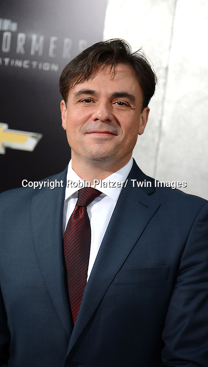 "Mark Ryan attends the US Premiere of ""Transformers: Age of Extinction"" on June 25, 2014 at The Ziegfeld Theatre in New York City, New York, USA."