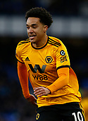 2nd February 2019, Goodison Park, Liverpool, England; EPL Premier League Football, Everton versus Wolverhampton Wanderers; Helder Costa of Wolverhampton Wanderers
