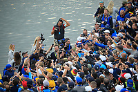 Jon Rahm (Team Europe) after the sunday singles at the Ryder Cup, Le Golf National, Paris, France. 30/09/2018.<br /> Picture Phil Inglis / Golffile.ie<br /> <br /> All photo usage must carry mandatory copyright credit (&copy; Golffile | Phil Inglis)