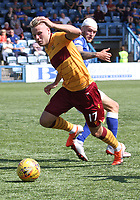 James Scott in the SPFL Betfred League Cup group match between Queen of the South and Motherwell at Palmerston Park, Dumfries on 13.7.19.