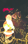 20,000 bulbs light up bungalow..South Kerry TD Jackie Healy-rae got caught in a net of fairy lights as he switched on 20,000 lights at the home of Tim Clifford in Beaufort, Killarney on Saturday night.  The  illuminated house and gardens has been attracting huge crowds to see the spectacular sight..Picture by Don MacMonagle Jackie Healy-Rae, TD from the book by Don MacMonagle entitled 'Jackie - Keeping Up Appearances' published in 2002.