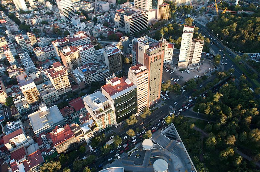 Aerial photos of Mexico City, Mexico