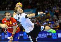 23.01.2013 World Championshio Handball. Match between Spain vs Germay at the stadium Principe Felipe. The picture show.