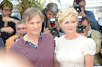 "Kirsten Dunst and Viggo Mortensen attending the ""On the Road"" Photocall during the 65th annual International Cannes Film Festival in Cannes, France, 23rd May 2012...Credit: Timm/face to face /MediaPunch Inc. ***FOR USA ONLY***"
