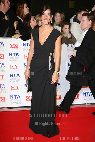 Julia Bradbury arriving for the National Television Awards, O2, London. 25/01/2012 Picture by: Alexandra Glen / Featureflash