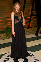 Lily Cole arriving for the 2014 Vanity Fair Oscars Party, Los Angeles. 02/03/2014 Picture by: James McCauley/Featureflash