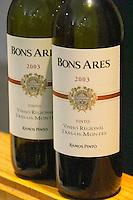 ViniPortugal's tasting room. Bons Ares Tinto Tras-os-Montes, Ramos Pinto 2003. Lisbon, Portugal