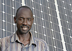 David Lueth is a successful graduate of the St. Peter Claver Ecological Training Centre in Rumbek, South Sudan. The Jesuit-sponsored school provides vocational training school in solar energy and water and sanitation. Lueth today earns his living installing and maintaining solar energy equipment.