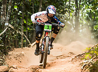 Picture by Alex Broadway/SWpix.com - 10/09/17 - Cycling - UCI 2017 Mountain Bike World Championships - Downhill - Cairns, Australia - Matt Walker of Great Britain competes in the Men's Junior Downhill Final.