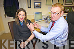 GET THE VACCINE: Deirdre Lunch took Dr Chutes advice and got the flu vaccine this week  as it's feared a pandemic is on the way.