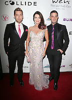 Los Angeles, CA - NOVEMBER 03: Lance Bass, Lisa!Vanderpump, Michael Turchin at The Vanderpump Dogs Foundation Gala in Taglyan Cultural Complex, California on NOVEMBER 03, 2016. Credit: Faye Sadou/MediaPunch