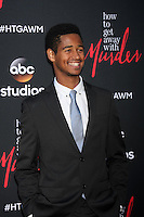 """Alfred Enoch at the """"How To Get Away With Murder"""" ATAS FYC Event, Sunset Gower Studios, Los Angeles, CA 05-28-15<br /> <br /> David Edwards/Newsflash Pictures 818-249-4998"""