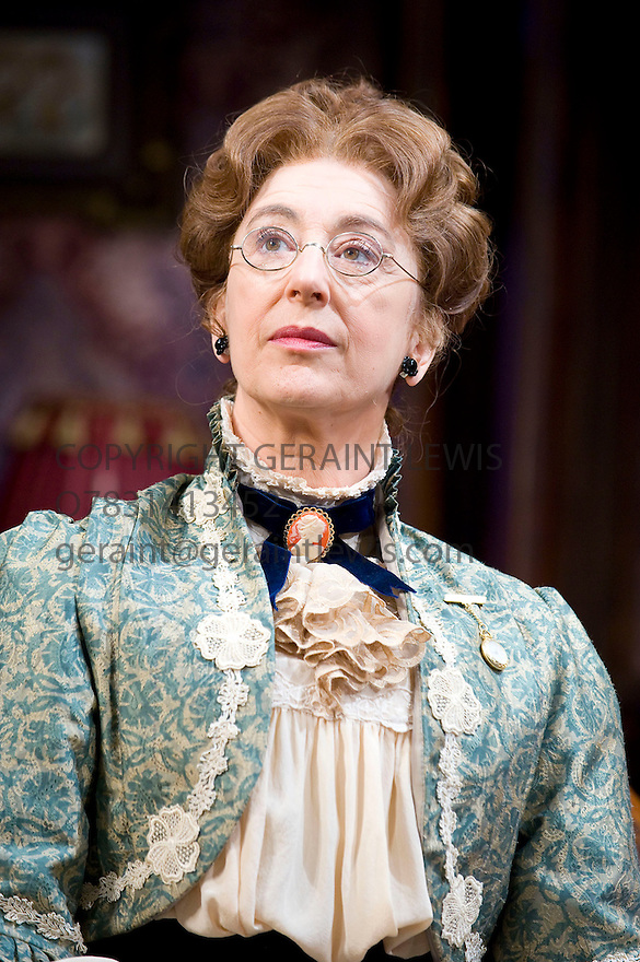 When We Are Married by J B Priestley,directed by Chris Luscombe. .With Maureen Lipman as Clara Soppitt.Opens at The Garrick Theatre  on 27/10/10  CREDIT Geraint Lewis