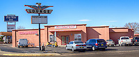The Pow Wow Restaurant in Tucumcari, New Mexico on Route 66.