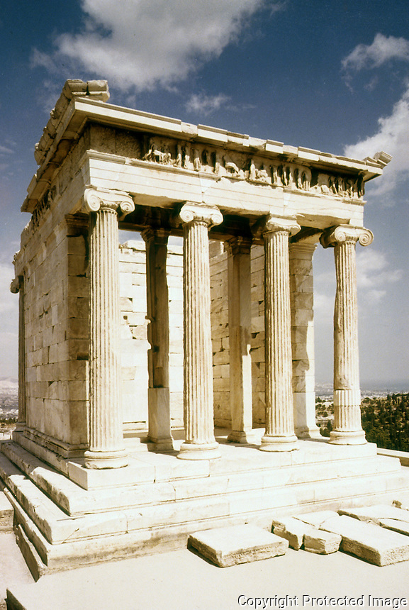 Greece: The Propylaea of the Acropolis.