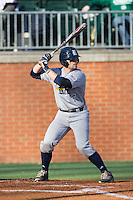 John Clay Reeves (7) of the Rice Owls at bat against the Charlotte 49ers at Hayes Stadium on March 6, 2015 in Charlotte, North Carolina.  The Owls defeated the 49ers 4-2.  (Brian Westerholt/Four Seam Images)