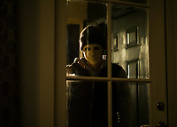 Hush (2016)<br /> John Gallagher Jr.<br /> *Filmstill - Editorial Use Only*<br /> CAP/KFS<br /> Image supplied by Capital Pictures