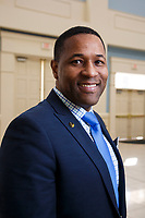 Fitzroy Gordon from the School of Business is pictured on January 19, 2018. (Photo by Jessie Rogers)
