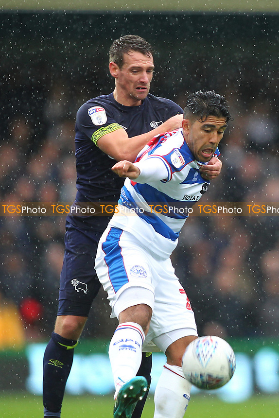 Massimo Luongo of Queens Park Rangers during Queens Park Rangers vs Derby County, Sky Bet EFL Championship Football at Loftus Road Stadium on 6th October 2018