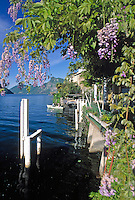 CHE, Schweiz, Tessin, Gandria am Luganer See | CHE, Switzerland, Ticino, Gandria at Lago Lugano