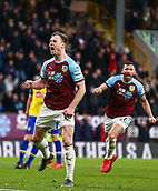 2nd February 2019, Turf Moor, Burnley, England; EPL Premier League football, Burnley versus Southampton; Ashley Barnes of Burnley celebrates after scoring from the penalty spot in the 94th minute to make it 1-1