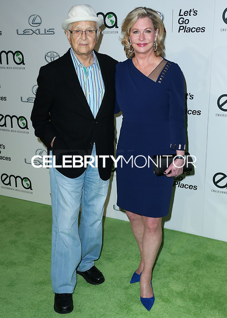 BURBANK, CA, USA - OCTOBER 18: Norman Lear, Lyn Lear arrive at the 2014 Environmental Media Awards held at Warner Bros. Studios on October 18, 2014 in Burbank, California, United States. (Photo by Xavier Collin/Celebrity Monitor)