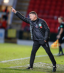 09.11.2019 St Johnstone v Hibs: Hibs caretaker manager Eddie May