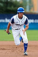 26 july 2010: Kenji Hagiwara of France runs to third base during France 10-2 victory over Ukraine, in day 4 of the 2010 European Championship Seniors, in Neuenburg, Germany.
