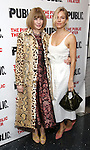 """Anna Wintour and Sienna Miller during the Off-Broadway Opening Night performance party for """"Plenty""""  at the Public Theatre on October 20, 2016 in New York City."""