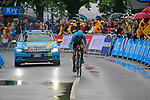 Jakob Fuglsang (DEN) Astana in action during Stage 1, a 14km individual time trial around Dusseldorf, of the 104th edition of the Tour de France 2017, Dusseldorf, Germany. 1st July 2017.<br /> Picture: Eoin Clarke | Cyclefile<br /> <br /> <br /> All photos usage must carry mandatory copyright credit (&copy; Cyclefile | Eoin Clarke)
