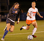 Freshman Forward Kelli Hubly runs up field during the University of Kentucky vs UT-Martin soccer game in the first round of the NCAA Soccer Tournament in Lexington, Ky., on, 11 11/9/2012, {year}. Photo by Jared Glover | Staff