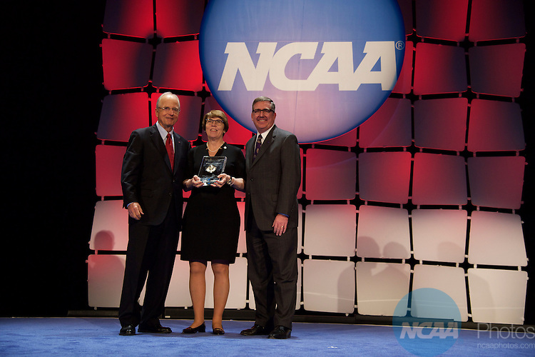 15 JAN 2016:  The NCAA Honor's Celebration takes place during the 2016 NCAA Convention at the Grand Hyatt San Antonio in San Antonio, TX.   Jamie Schwaberow/NCAA Photos  (Pictured:  Peter Ueberroth)