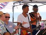 Santa Barbara Ukulele Club party on 8-19-18