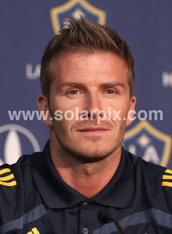 **ALL ROUND PICTURES FROM SOLARPIX.COM**.**SYNDICATION RIGHTS FOR UK, AUSTRALIA, DENMARK, PORTUGAL, S. AFRICA, SPAIN & DUBAI (U.A.E) ONLY**.David Beckham at the 2009 Soccer LA Galaxy and Red Bulls Press Conference at the W Hotel in New York, New York City, NY, USA. 15 July 2009..This pic: David Beckham..JOB REF: 9502 PHZ (Mayer)   DATE: 15_07_2009.**MUST CREDIT SOLARPIX.COM OR DOUBLE FEE WILL BE CHARGED**.**ONLINE USAGE FEE GBP 50.00 PER PICTURE - NOTIFICATION OF USAGE TO PHOTO @ SOLARPIX.COM**.**CALL SOLARPIX : +34 952 811 768 or LOW RATE FROM UK 0844 617 7637**