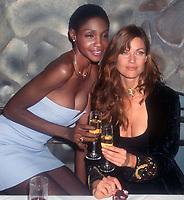 Roshumba Carol Alt 1996<br /> Photo By John Barrett/PHOTOlink