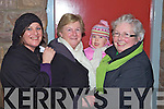 Listowel mother and daughter Judith and Marie Fitzgerald with grandmother and grandchild Aisling Darby(Ballincollig) and Mary Logan at opening night of 'Cinderella' last Tuesday in Scoil Realta, Listowel.