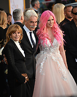 LOS ANGELES, CA. September 24, 2018: Sam Elliott, Katharine Ross &amp; Cleo Rose Elliott at the Los Angeles premiere for &quot;A Star Is Born&quot; at the Shrine Auditorium.<br /> Picture: Paul Smith/Featureflash