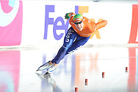 SCHAATSEN: BOEDAPEST: Essent ISU European Championships, 07-01-2012, 500m Men, Jan Blokhuijsen NED, ©foto Martin de Jong