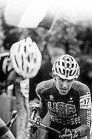 Picture by Russell Ellis/russellis.co.uk/SWpix.com - 30/01/2016 - Cycling - Cyclo-Cross - USA's Gage Hecht.