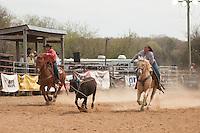 VHSRA - Powhatan, VA - 4.13.2014 - Team Roping