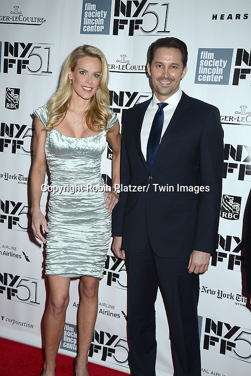 """Heidi Albertson and Prescott Caballero attend the Closing Night of The New York Film Festival screening of """"her"""" on October 12, 2013 at Alice Tully Hall in New York City."""
